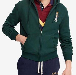 Polo bear Green hoodie
